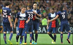 Paris Saint-Germain vs Guingamp
