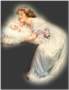 madre con bebe vintage (2)