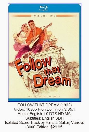 Follow That Dream Blu-ray