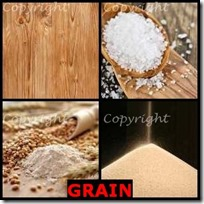 GRAIN- 4 Pics 1 Word Answers 3 Letters