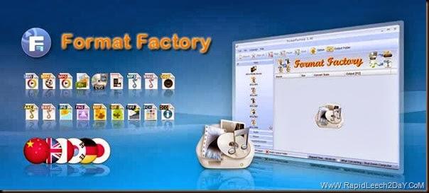 Format Factory 3.2.0 Offline Installer - Free media file format converter