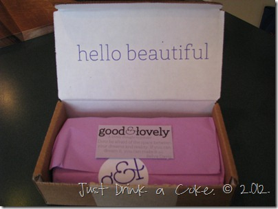Good & Lovely Box