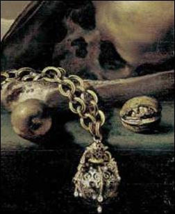 Claesz, Vanité au pomander et crâne