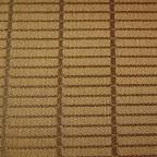 Ozdobna tkanina w kratkę. Na zasłony, poduszki, dekoracje. Szeroka 300cm. Brązowa.