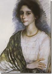 Zinaida-Serebriakova-Portrait-of-a-Woman-