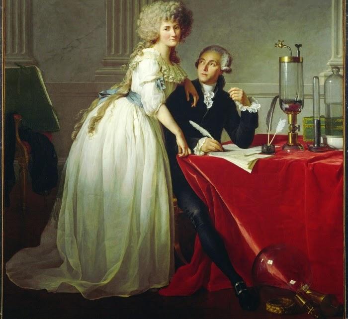 Lavoisier e sua esposa