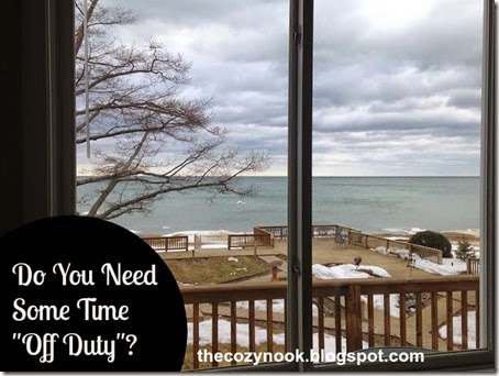 Do You Need Some Time Off Duty - The Cozy Nook