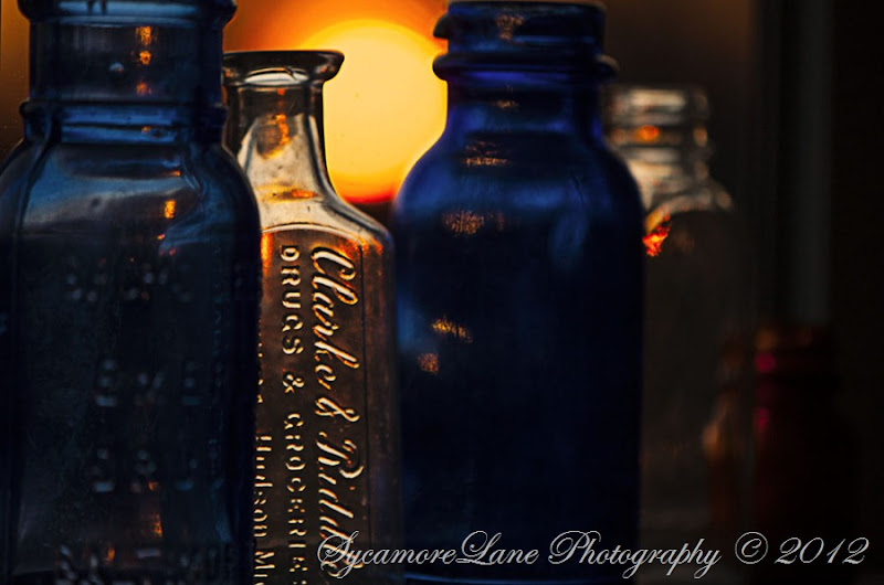 sun through antique glass-3- A Country Girl's Ramblings