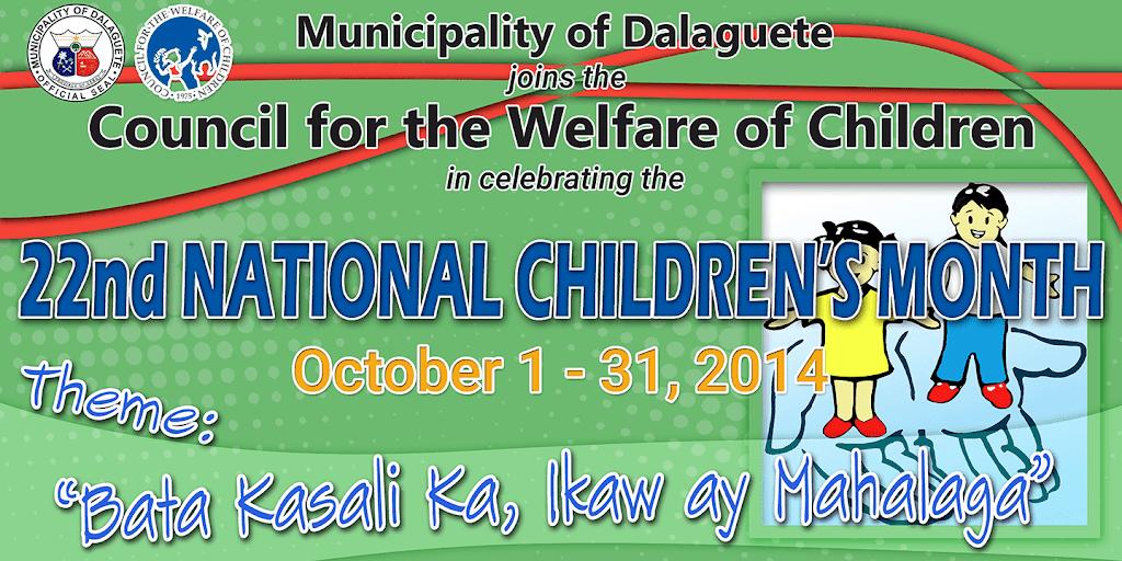 22nd National Children's Month