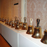 bells at huis ten bosch in Sasebo, Nagasaki, Japan