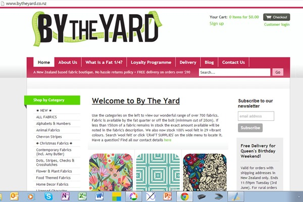 by the yard screen shot