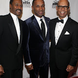 New York, NY-October 24: l to r: John Silvanus Wilson Jr., Executive Director White House Initative on Historically Black College and Universities and Johnny L. Taylor, president & CEO, TMCF and Dr. Michael Lomax, president & CEO, United Negro College Fund at the Thurgood Marshall College Fund 24th Anniversary Awards Dinner held at Sheraton Hotel & Towers on October 24, 2011 in New York City. Photo Credit: Terrence Jennings