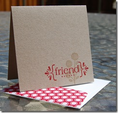 Bright Blossom Friend Card