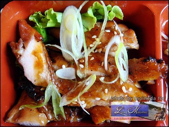 flavorful Chicken teriyaki