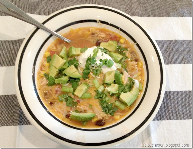 chicken enchilada soup 2