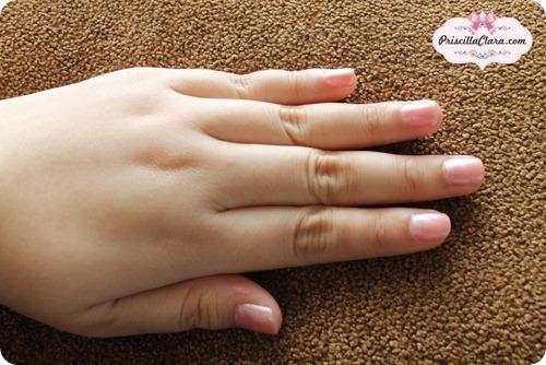 Priscilla Skinfood Pink Nail Polish 2