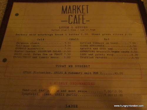 MARKET CAFE (Hackney)