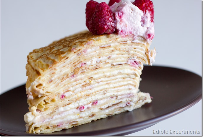 Meyer Lemon and Raspberry Crepe Cake-22