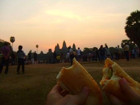 amanece en Angkor Wat