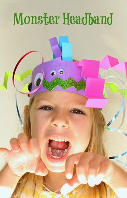Monster-Headband-Craft-for-Kids