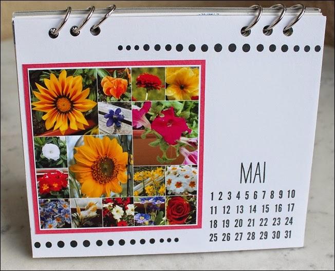 Tischkalender 2015 selbermachen basteln Blanko Vorlage 08