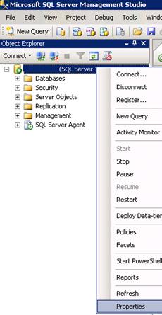 SQL Server Management Studio - Dynamic Memory