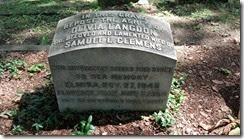 Oliva Langdon grave