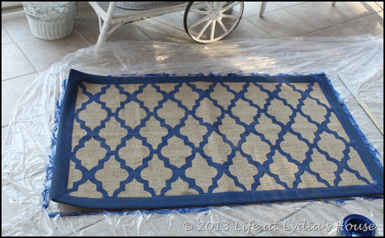 stenciled rug 3