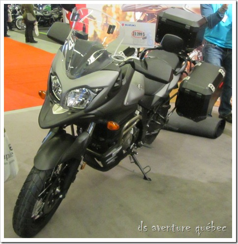 Salon Moto Montreal 2015 - Suzuki V-Strom 650