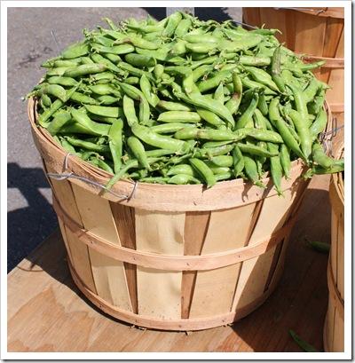 peas, fresh shell peas, migliorelli farm, rhinebeck farmers market
