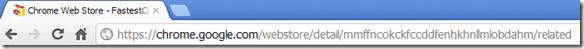 Stringa /related per visualizzare estensioni simili sul Chrome Web Store