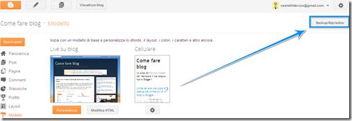come mettere template btemplates  modello personalizzato blog blogspot