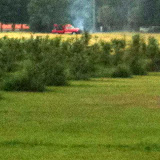 June 6, 2011 - Lighting caused fence to set post on fire and the field next to the blueberry orchard