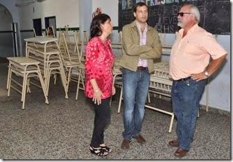 Zona Centro - La Escuela Técnica Nº1, de Santa Teresita recibió sillas y mesas