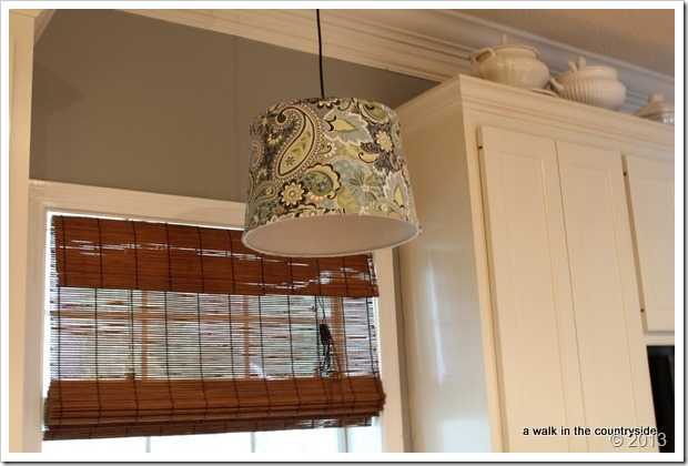 recessed light to pendant light
