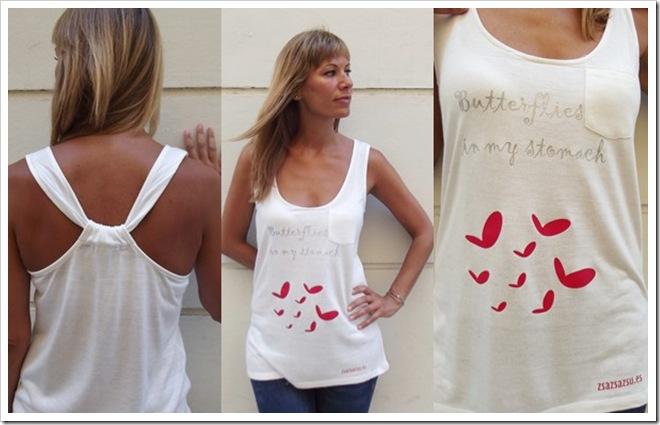 camiseta zzz blanco