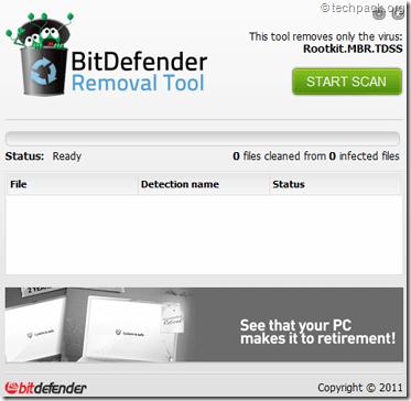 bitdefender TDL4 removal tool
