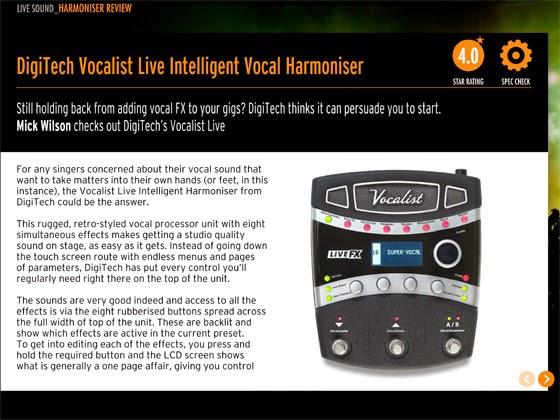 digitech vocalist live fx manual