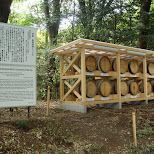 provenance of the bourgogne wine for consecration at meiji jingu in Yoyogi, Tokyo, Japan
