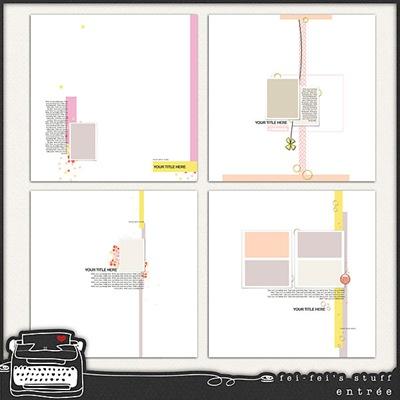 Entree Layered Templates Vol 1 Fei-Fei's Stuff