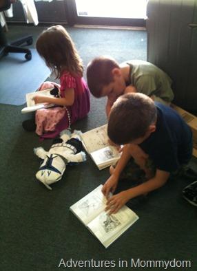 reading on their own