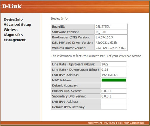 d link dsl 2730u setup software