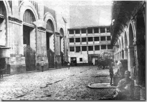 Mercado Corredera 1951