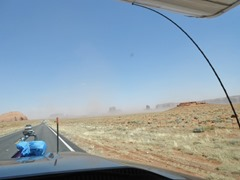 The upcoming wind and dust!