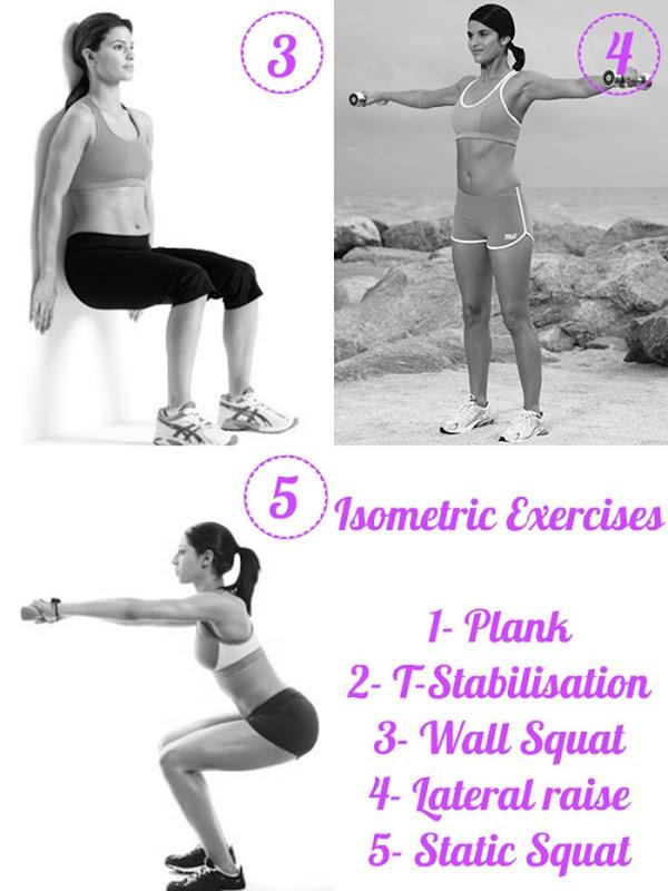 Wall Squat girl isometric-Lateral raise static squat