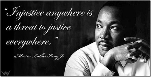 mlk injustice