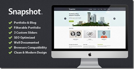 Snapshot-Portfolio-Blog-HTML-Template