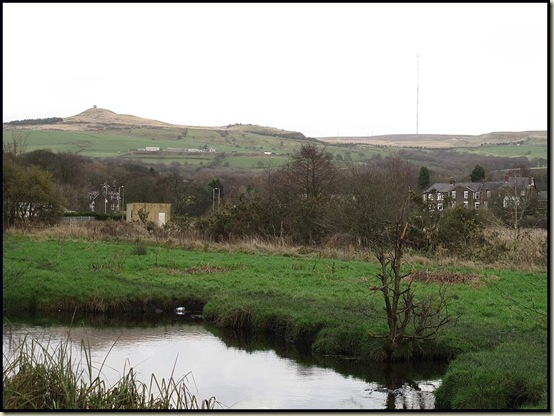 Rivington Pike and Winter Hill