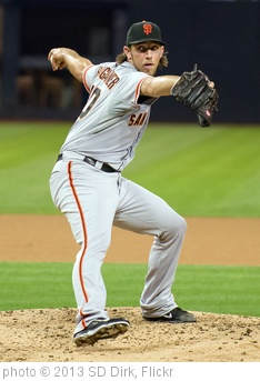 'SF Giants Madison Bumgarner' photo (c) 2013, SD Dirk - license: http://creativecommons.org/licenses/by/2.0/