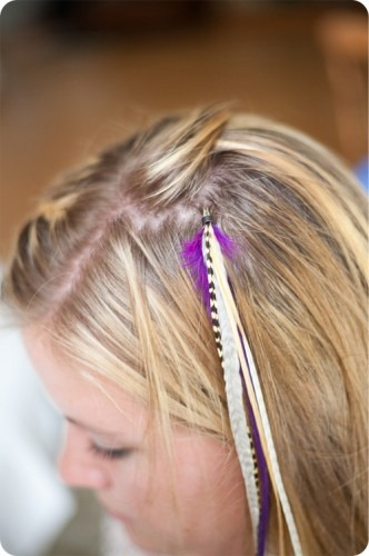 feather extensions tutorial